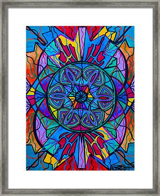 Poised Assurance Framed Print by Teal Eye  Print Store