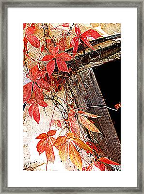 Poison Framed Print by Beverly Hammond