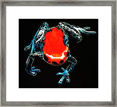 Poison Dart Frog Framed Print by Mike Durco