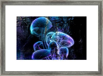 Poison Framed Print by Florentina Maria Popescu