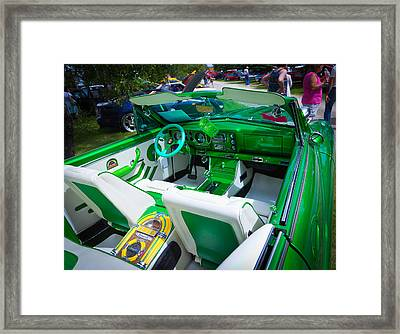 Framed Print featuring the photograph Poison Ivy Car by Mick Flynn