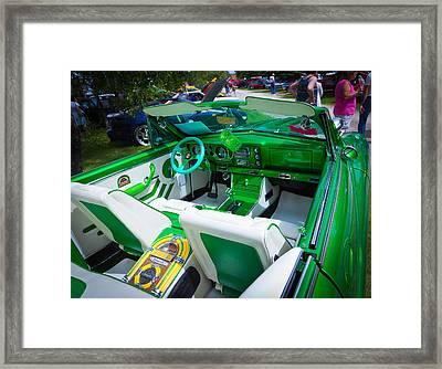 Poison Ivy Car Framed Print