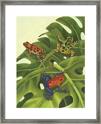 Poison Pals Framed Print by Laura Regan