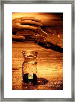 Poisoning Framed Print by Olivier Le Queinec