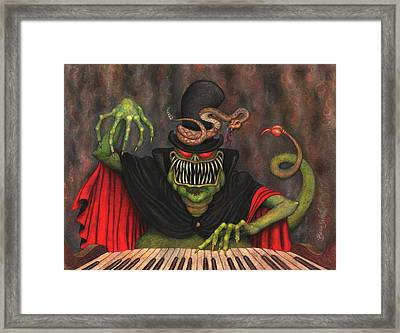 Poisonous Polyphonia Framed Print by Bobby Beausoleil