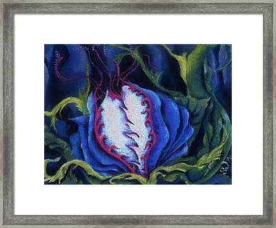 Poisonous Framed Print
