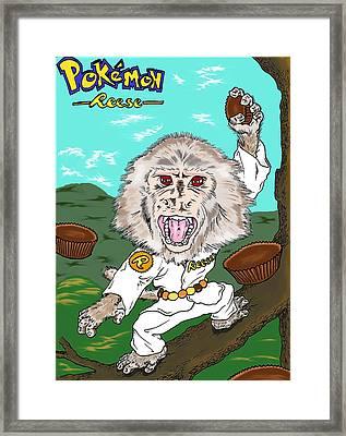 Pokemon Reese Framed Print