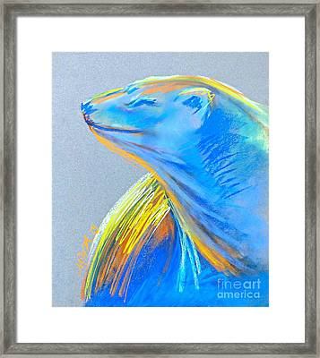 Polar Bear Sun Framed Print