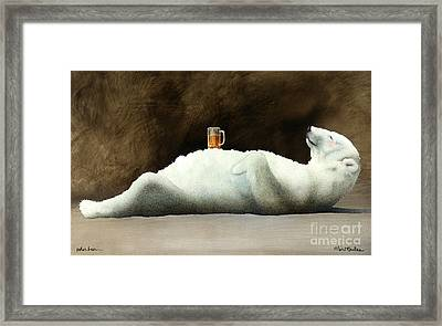 Polar Beer... Framed Print by Will Bullas