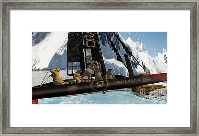 Polar Cup  Framed Print by John Mangino