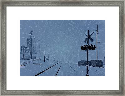 Polar Express Framed Print by Dan Sproul