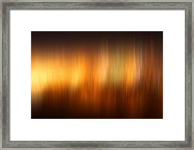 Polar Lights Framed Print