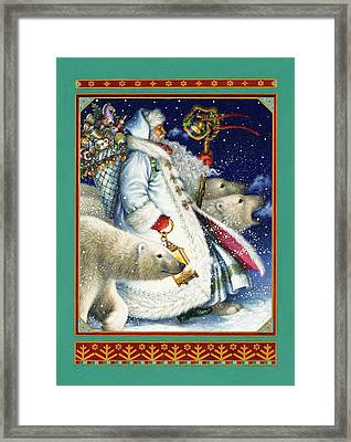 Polar Magic Framed Print