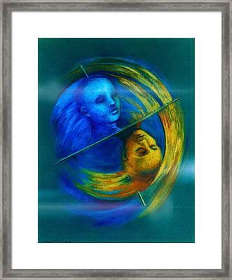 Polar Shift Number Two Framed Print