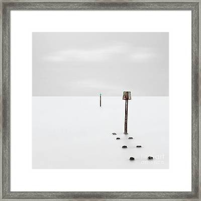 Pole Position Framed Print by Richard Thomas