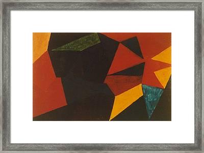 Poliakoff Homage 1972 Framed Print