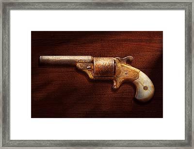 Police - Gun - Mr Fancy Pants Framed Print