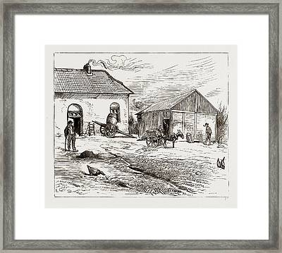 Police Hut To Protect Mike Flynns Cottage Framed Print by Litz Collection