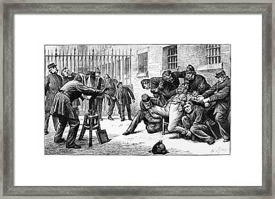 Police Photographer, 1873 Framed Print by Granger