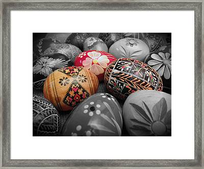 Polish Eggs Framed Print by Scott Kingery