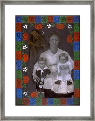 Polish Grandmother Framed Print