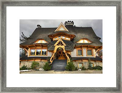 Polish Mountain House Framed Print by Pati Photography