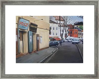 Polish Street Framed Print