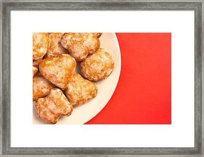 Polish Sweets Framed Print