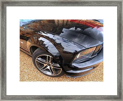 Polished To Perfection - Mustang Gt Framed Print by Gill Billington