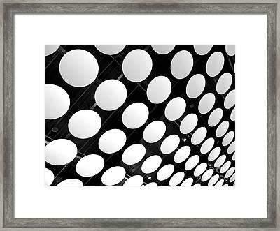 Polka Dots Framed Print by Ann Horn