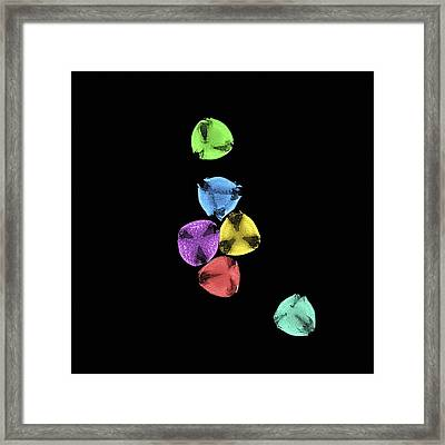 Pollen Grains Framed Print by Dr Clifford Barnes, University Of Ulster