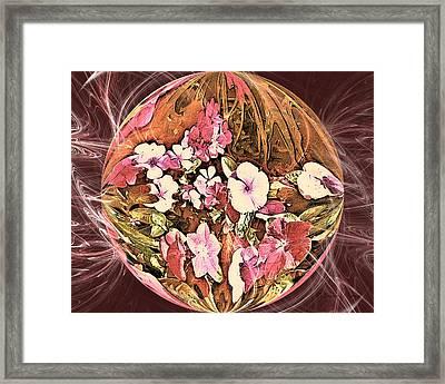 Pollen Power Framed Print