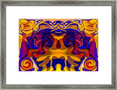 Pollinators Framed Print by Omaste Witkowski