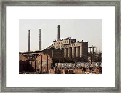 Pollution Framed Print by Ashley Cooper