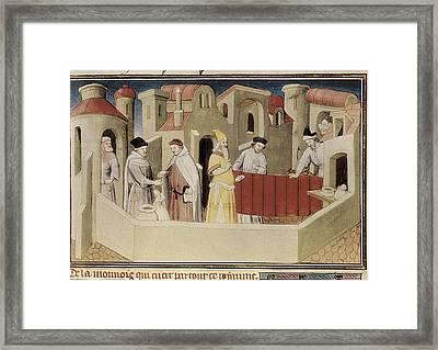 Polo, Marco 1254-1324. Venetian Framed Print by Everett