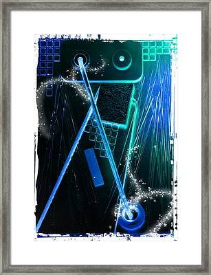 Poltergeist Framed Print by Scott Kingery