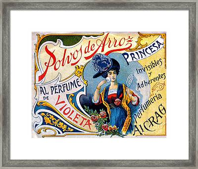 Polvos De Arroz, 1890 Framed Print by Science Source
