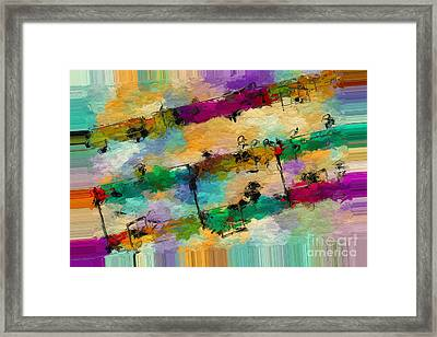 Polychromatic Postlude 11 Framed Print