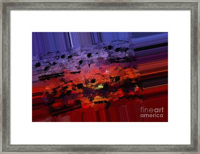 Polychromatic Postlude 4 Framed Print