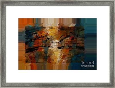 Polychromatic Postlude 5 Framed Print