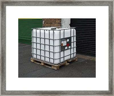 Polyester Resin Framed Print by Robert Brook