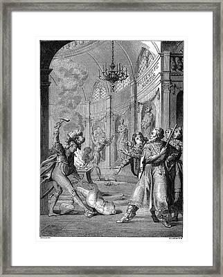 Polyeucte Martyrdom Framed Print
