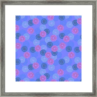 Pom Pom Framed Print by Laurence Lavallee