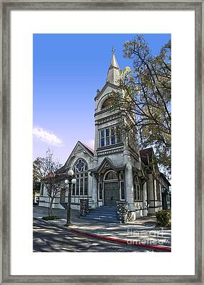 Pomona Seventh Day Adventist Church - 02 Framed Print