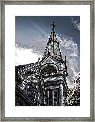 Pomona Seventh Day Adventist Church Framed Print