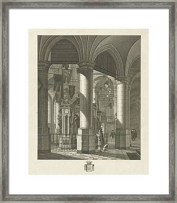 Pomp Grave Count William I Of Orange In The Nieuwe Kerk Framed Print by Quint Lox