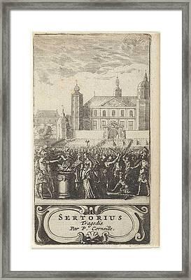 Pompée Burns Correspondence, Abraham Dircksz Santvoort Framed Print by Artokoloro