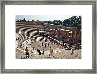 Pompei-104 Framed Print