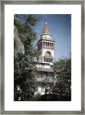 Ponce De Leon Hall Framed Print by Joan Carroll