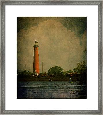 Ponce De Leon Light House Framed Print